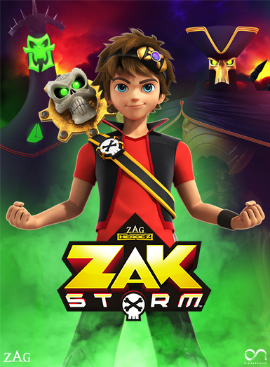 Zak Storm, ON kids and family, Method Animation, Zagtoon, ON Entertainment, ON Animation Studios