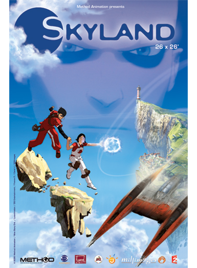 SKYLAND, ON kids and family, Method Animation, ON Entertainment, ON Animation Studios
