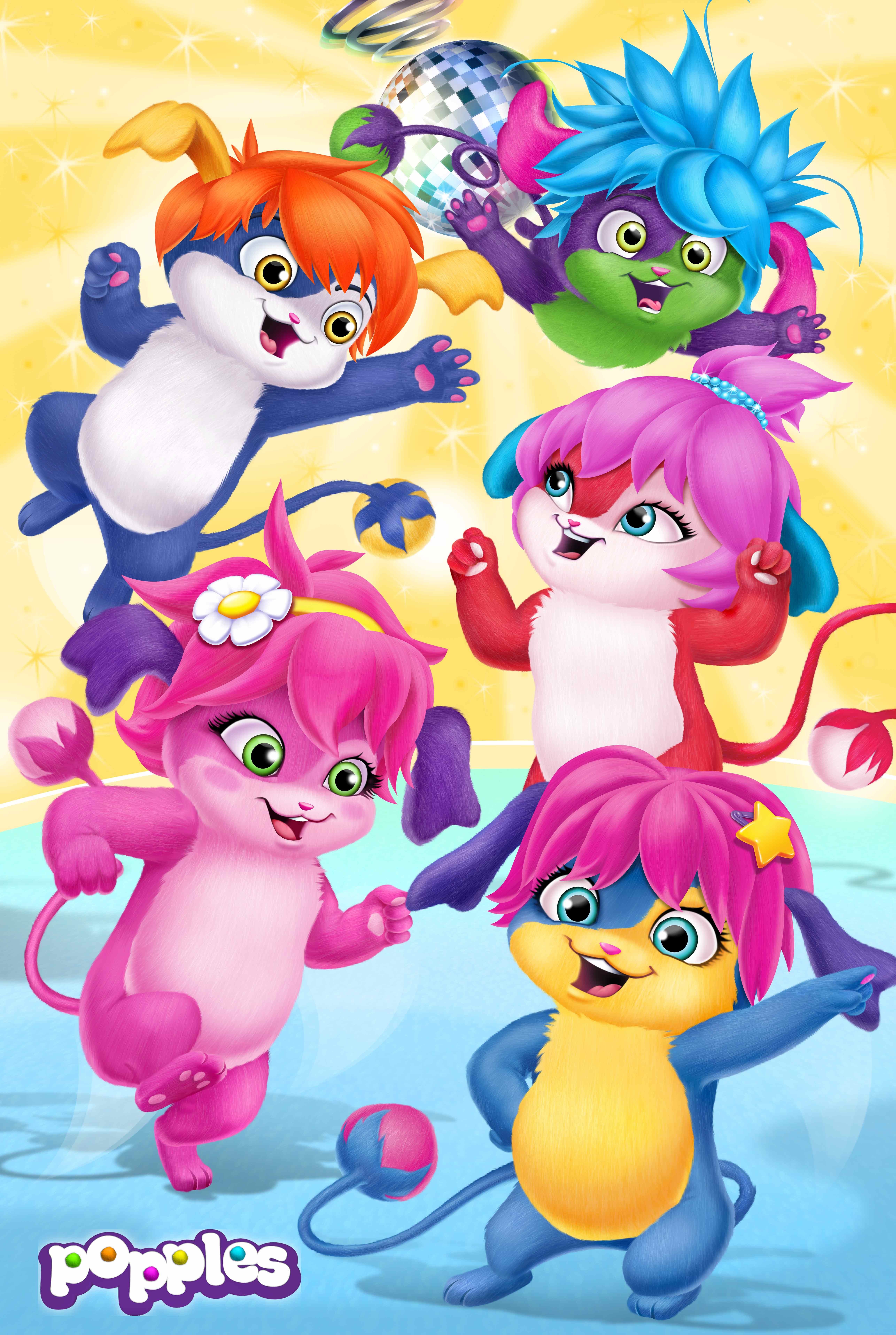 Popples, ON kids and family, Method Animation, ON Entertainment, ON Animation Studios