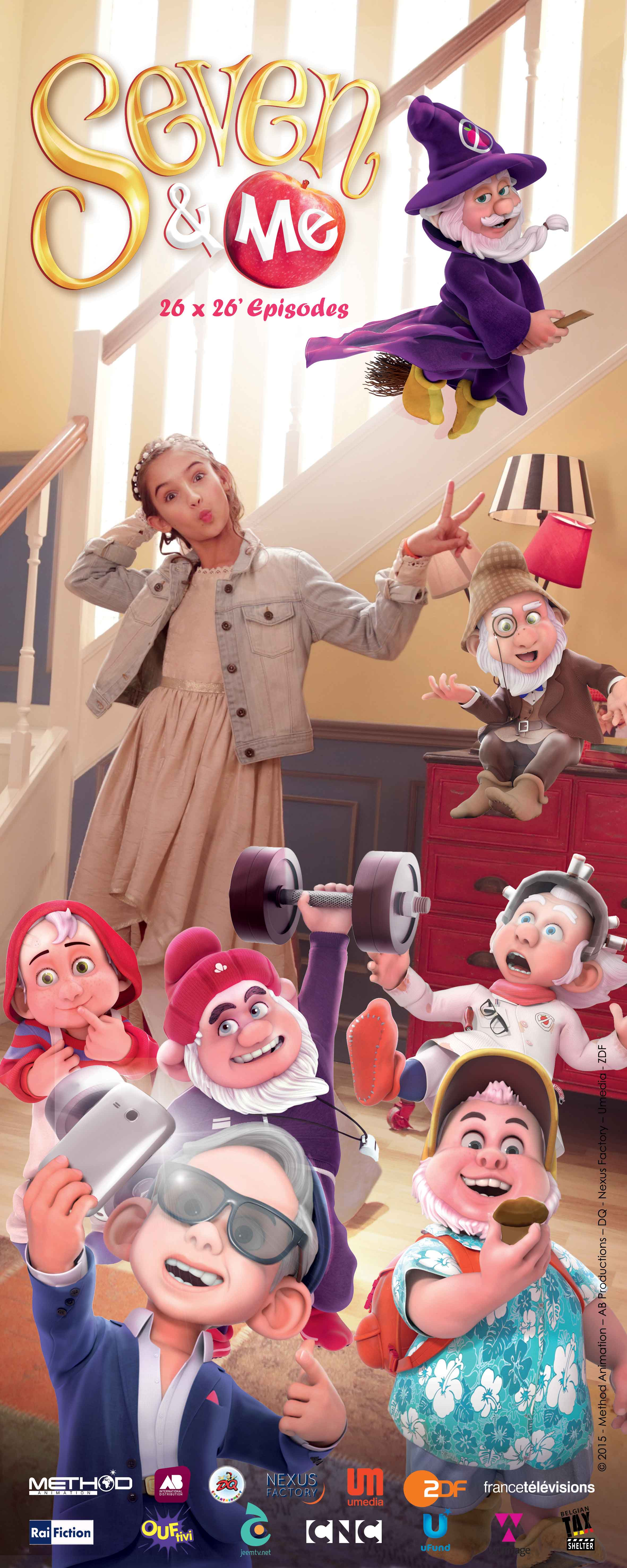 Sept Nains et Moi ON kids and family, ON Animation Studios, ON Entertainment, Method Animation