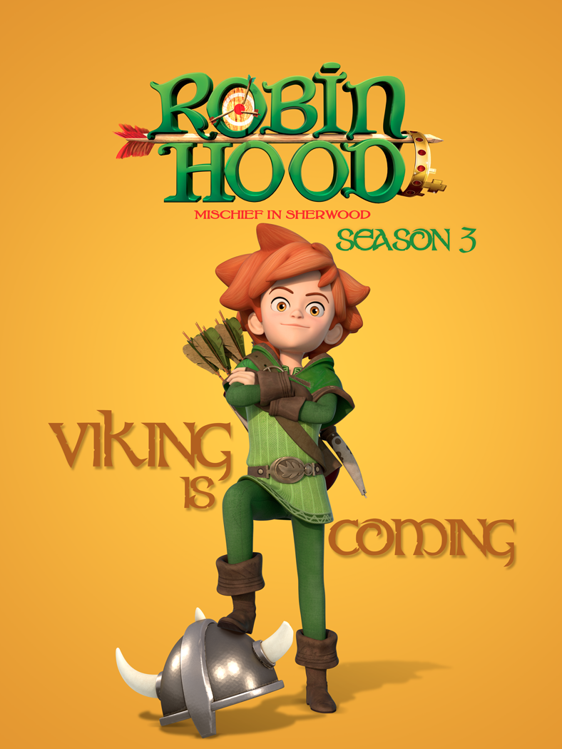 Robin Hood, ON kids and family, Method Animation, ON Entertainment, ON Animation Studios